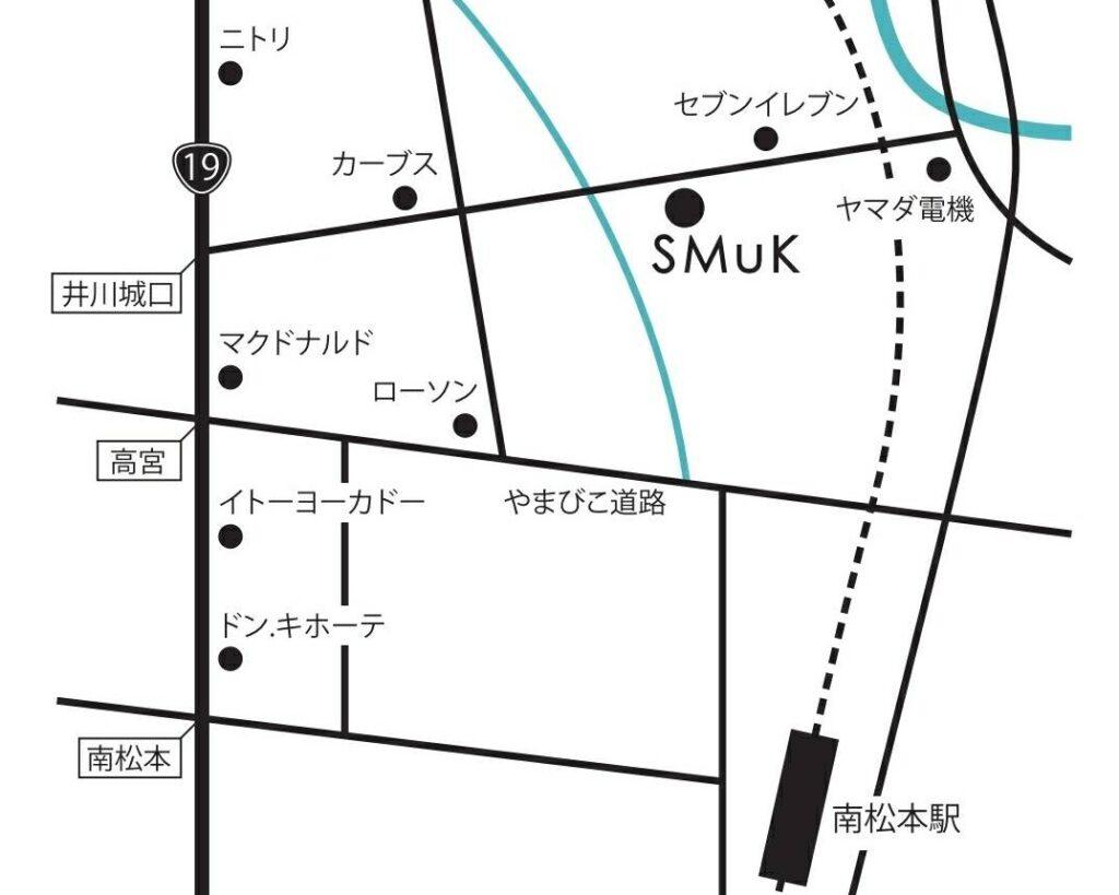 スムークのマップ