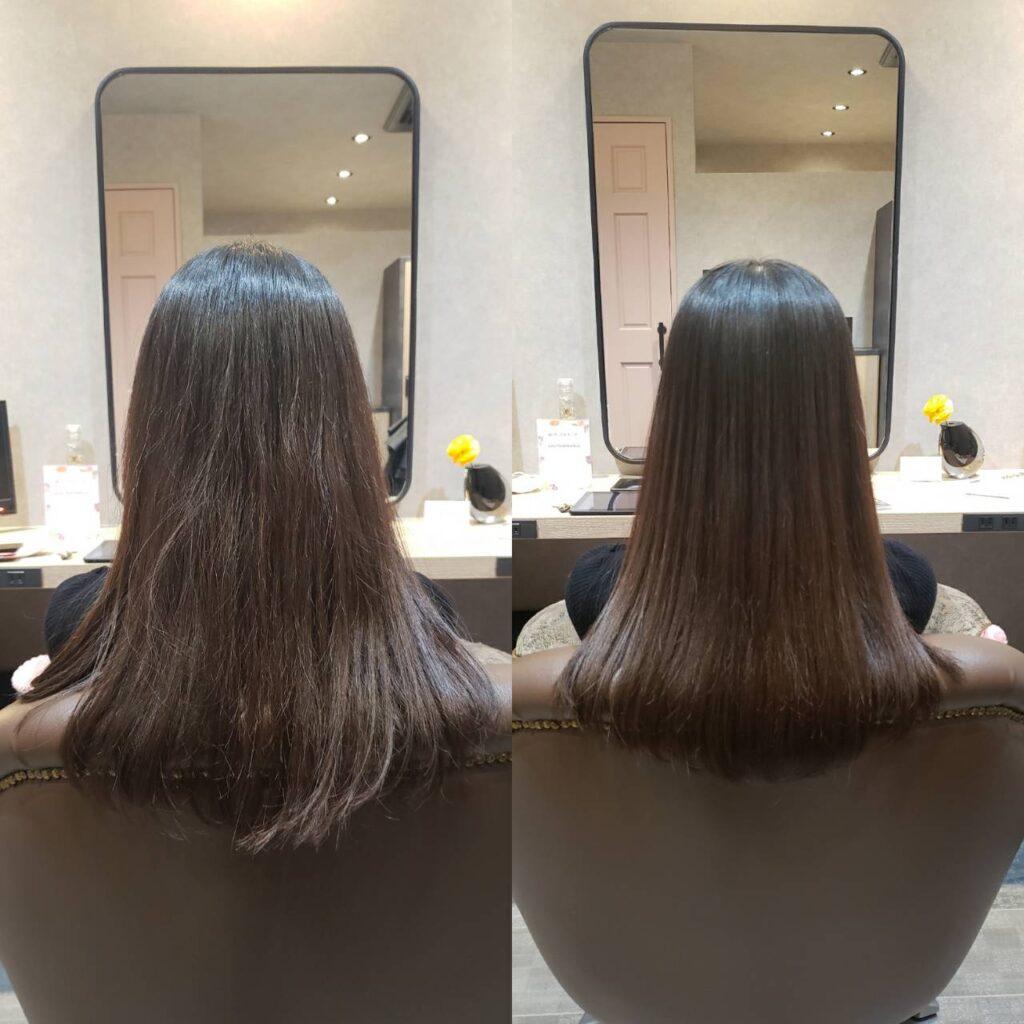 髪質改善ケア